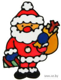 """Наклейка на стекло """"Дед мороз"""" (арт. 10727615)"""