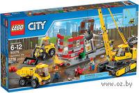 """LEGO City """"Снос старого здания"""""""