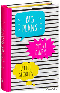 My 1 Diary. Big Plans. Little Secrets