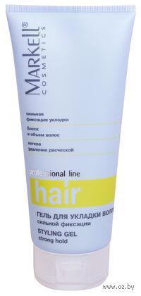 Гель для укладки волос сильной фиксации (200 мл)