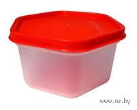 Контейнер для еды пластмассовый (0,5 л; арт. 36209)
