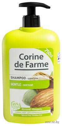 Шампунь для любого типа волос с миндалем и медом (750 мл)