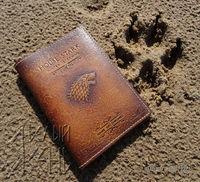 "Обложка на паспорт ""House STARK"" по мотивам сериала ""Игра престолов"""
