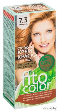 """Крем-краска для волос """"FitoСolor"""" (тон: 7.3, карамель; 115 мл)"""
