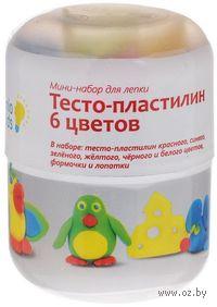 "Набор для лепки ""Тесто-пластилин"" (6 цветов)"