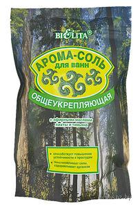 """Арома-соль для ванн """"Общеукрепляющая"""" с эфирными маслами пихты и тимьяна (650 г)"""