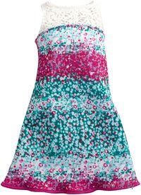 """Одежда для куклы """"Барби. Платье в мелкий цветочек"""""""
