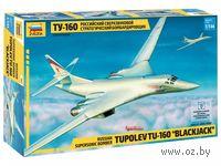 Самолет Ту-160 (масштаб: 1/144)