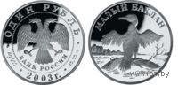 1 рубль - Малый баклан