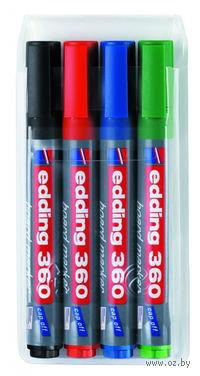 Набор маркеров для досок Edding 360