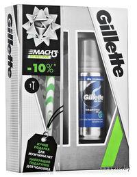 Подарочный набор GILLETTE MACH3 (станок для бритья + гель для бритья 75 мл)