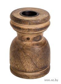 Подсвечник деревянный (9,5*5,5 см, арт. A54007140)