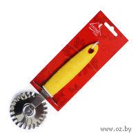 Нож для пиццы металлический с пластмассовой ручкой (19 см, арт. KL36C02-P07)