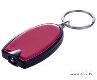 Брелок с LED-фонариком Vivid (красный)