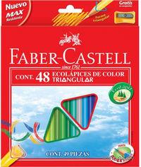 Цветные карандаши Faber-Castell ECO (48 цветов + точилка)