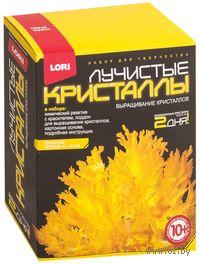 """Набор для выращивания кристаллов """"Лучистые кристаллы. Желтый"""""""