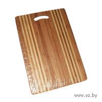 Доска разделочная бамбуковая (39*27*1,8 см)
