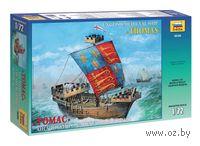 Английский средневековый корабль