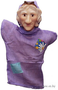 "Мягкая игрушка на руку ""Баба Яга"""