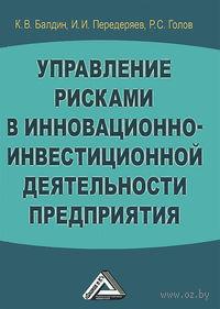 Управление рисками в инновационно-инвестиционной деятельности предприятия. Константин Балдин, Игорь Передеряев, Роман Голов