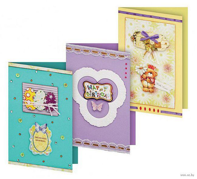 Картинки, набор для изготовления открытки клевер первые открытки