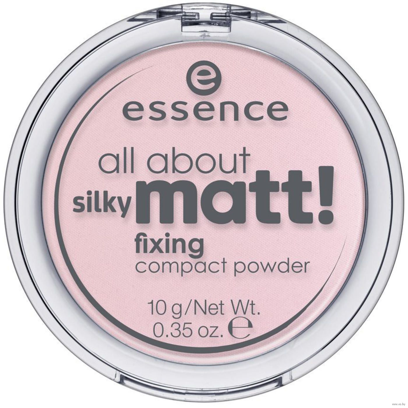 Пудра Essence «All About Silky Matt!» тон 10. Купить пудру Эссенс в Минске  в интернет-магазине — OZ.by 0ad4caef1fa