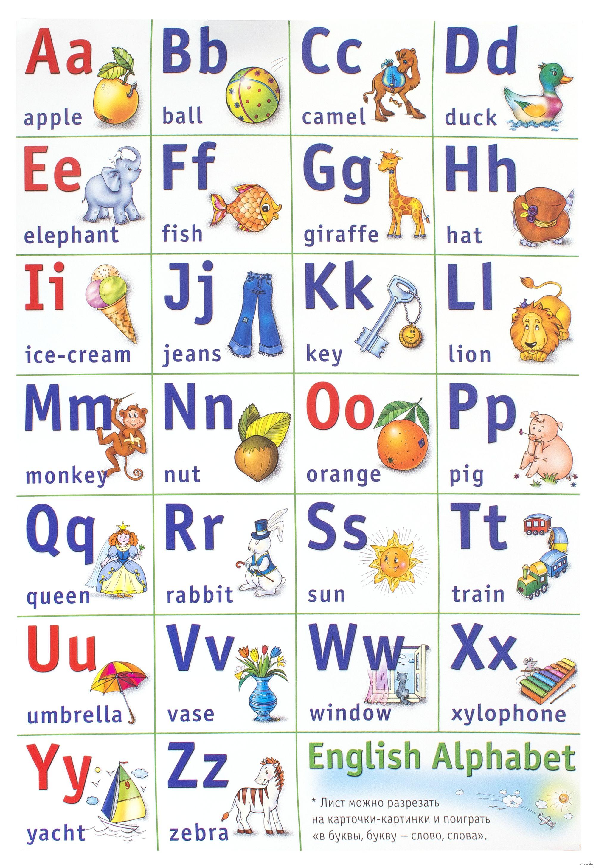 Смотреть картинки английский алфавит