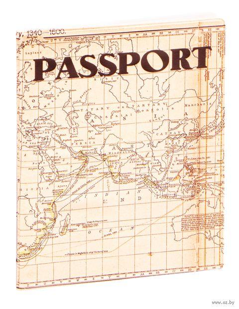 """Обложка для паспорта """"Miusli Map"""" — фото, картинка"""