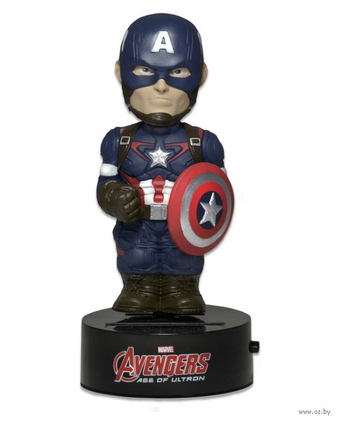 """Фигурка """"Neca. Капитан Америка"""" на солнечной батарее (15 см)"""