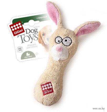 """Игрушка для собак """"Заяц"""" (18 см)"""