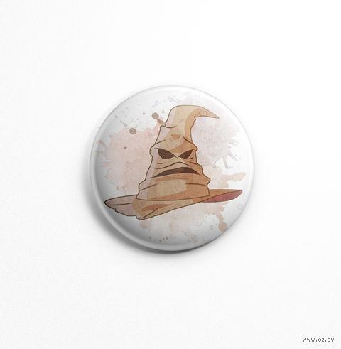 """Значок маленький """"Гарри Поттер. Распределяющая шляпа"""" (арт. 487) — фото, картинка"""