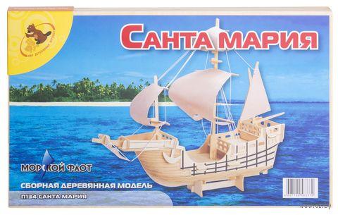 """Сборная деревянная модель """"Санта Мария"""" — фото, картинка"""