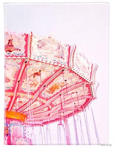 "Обложка на паспорт ""Merry-go-round"" — фото, картинка"