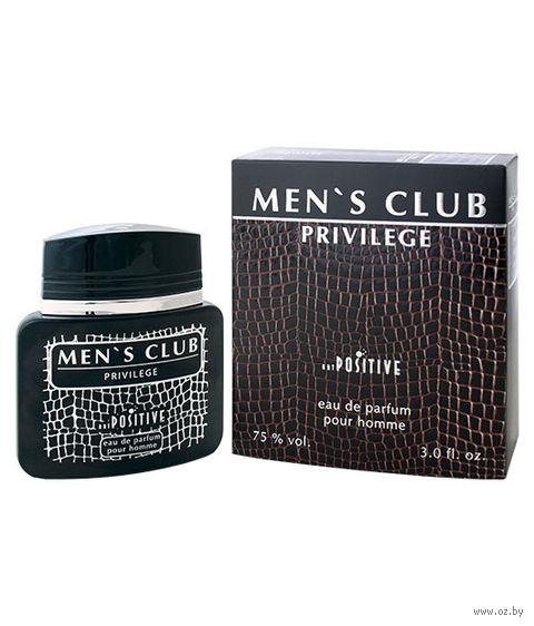 "Парфюмерная вода для мужчин ""Men's Club Privilege"" (90 мл) — фото, картинка"