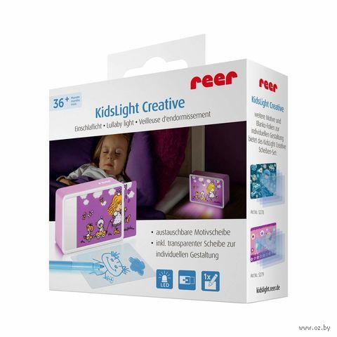 """Ночник детский """"KidsLights Creative. Принцесса"""" (с вкладышем) — фото, картинка"""