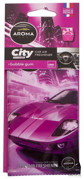 """Ароматизатор подвесной """"City Card"""" (bubble gum) — фото, картинка"""