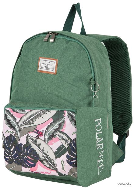 Рюкзак П0056 (13,7 л; зелёный) — фото, картинка