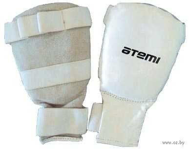 Перчатки для карате PKP-453 (XL; кожа; белые) — фото, картинка