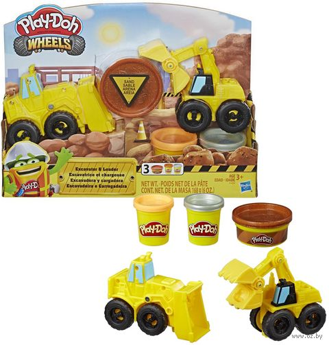 "Набор для лепки ""Play-Doh. Экскаватор"" — фото, картинка"