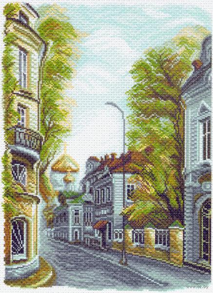 """Канва с нанесенным рисунком """"Гагарински переулок"""""""