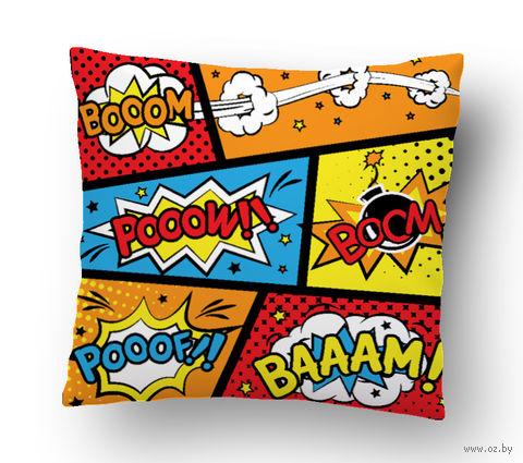 """Подушка маленькая """"Boom"""" (art. 17; 15x15 см)"""