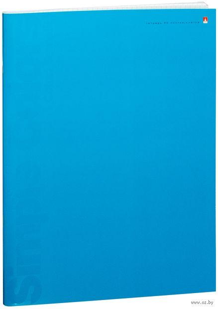 """Тетрадь общая в клетку """"Простые цвета"""" (А4; 80 листов; в ассортименте) — фото, картинка"""