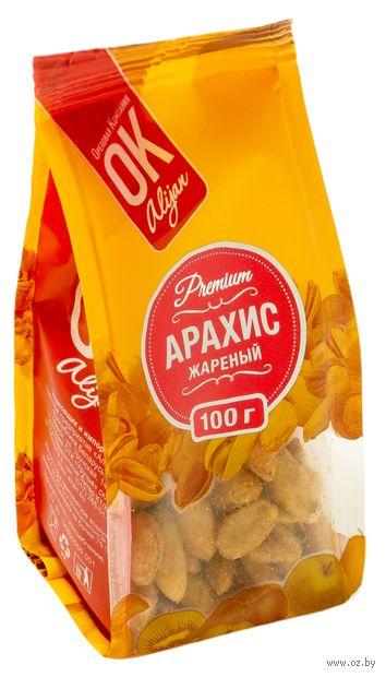 """Арахис жареный """"Premium ОК!"""" (100 г; с пряностями) — фото, картинка"""
