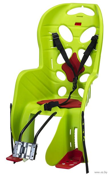 """Кресло велосипедное детское """"FRAACH T"""" (зелёное) — фото, картинка"""
