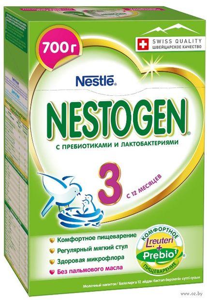 """Сухой молочный напиток """"Nestogen 3"""" (700 г) — фото, картинка"""