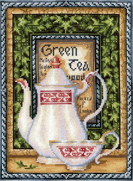 "Вышивка крестом ""Грин Мелисса"" (200х265 мм) — фото, картинка"