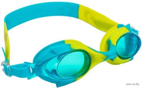 Очки для плавания (мультиколор; арт. DE 0374) — фото, картинка