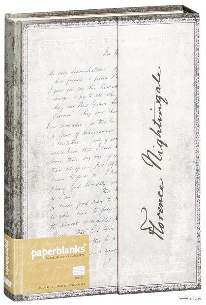 """Записная книжка Paperblanks """"Флоренс Найтингейл. Письмо о вдохновении"""" в линейку (180х230 мм)"""