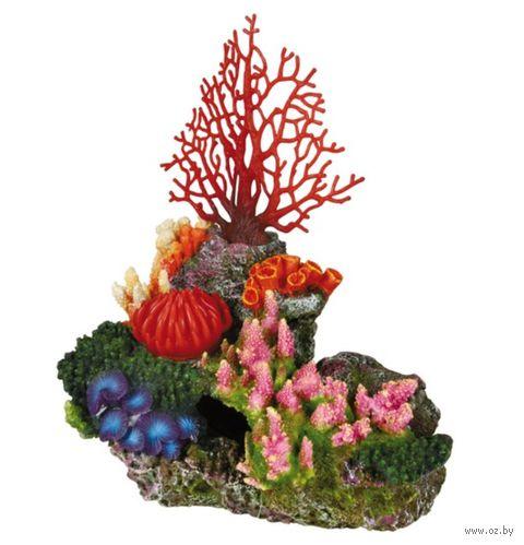 """Декорация для аквариума """"Коралловый риф"""" с воздухоотводом (29 см., арт. 8708)"""