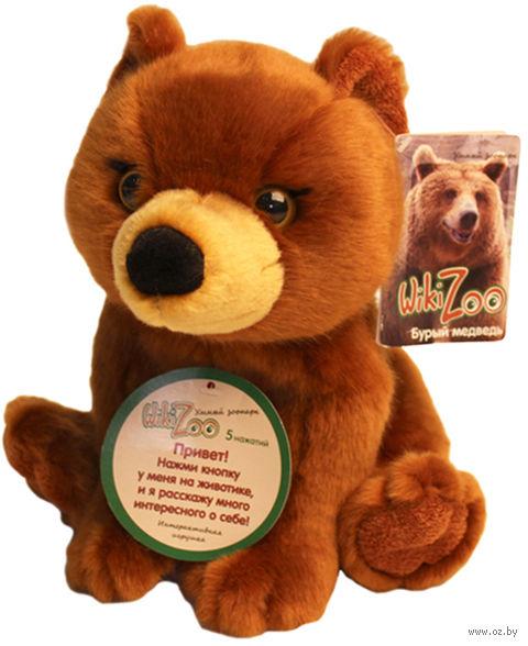 "Мягкая интерактивная игрушка ""Wiki Zoo. Медведь"""